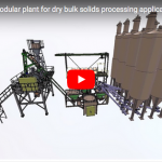 Actemium: FLEXIPLANT – Modular plant for dry bulk solids processing applications in batch mode