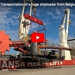 HANSA HEAVY LIFT: HHL Valparaiso – Transportation of a huge shiploader from Belgium to Angola