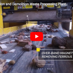 Kiverco: 25TPH Construction and Demolition Waste Processing Plant