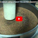 Kason Corporation: De-dusting ground walnuts using a Kason Vibroscreen Separator