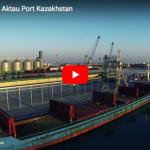 Silos Cordoba: Grain Terminal in Aktau Port Kazakhstan