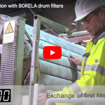 BOKELA: Non stop production with BOKELA drum filters