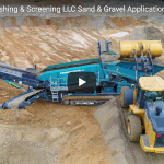 Powerscreen Crushing & Screening LLC:  Sand & Gravel Application