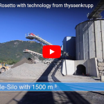 thyssenkrupp Industrial Solutions: Crushing – Screening – Storage at Quarry Carrieres Rosetto