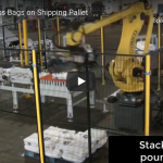 Tinsley Company: Robot Stacks Bags on Shipping Pallet