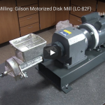 Gilson Company: Grinding / Milling – Gilson Motorized Disk Mill (LC-82F)