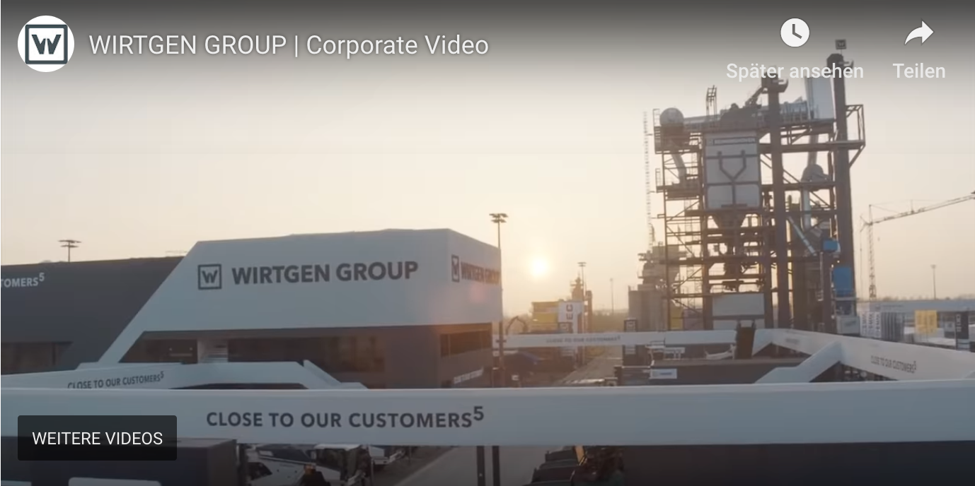 Wirtgen Group Archive Powder Bulk Videos Portal