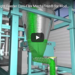 Schenck Process: Loss-in-Weight Feeder Coni-Flex MechaTron® for Moderate Flowing Solids